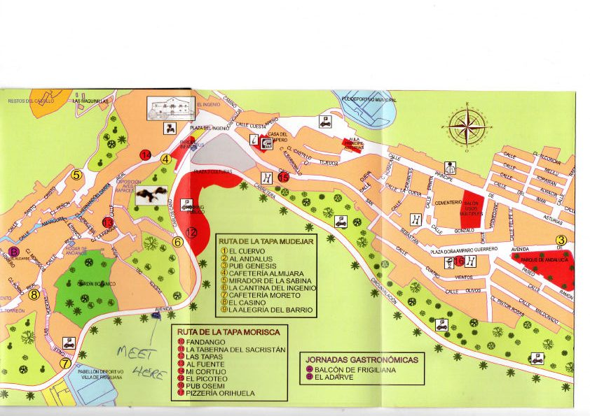 where is the botanic gardens in frigiliana